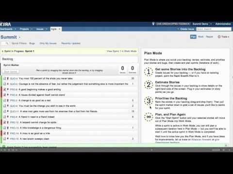 Setting Up Your Scrum Board in GreenHopper – Atlassian Summit 2012