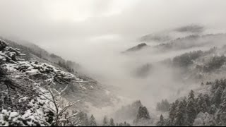 Xiangyang (Hubei) China  city photo : Amazing Scenery of This Year's First Snow in Hubei, China