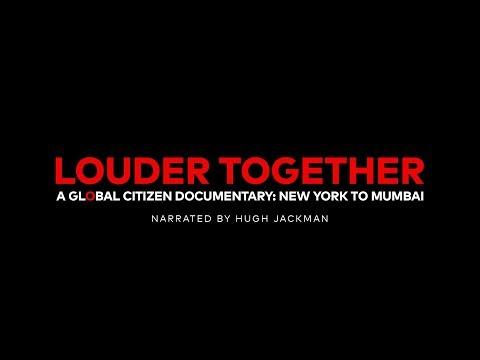نجوم الغناء يروجون للوثائقي Louder Together
