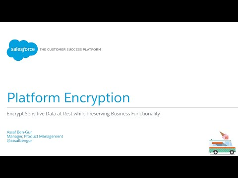 Salesforce1 Platform - Platform Encryption