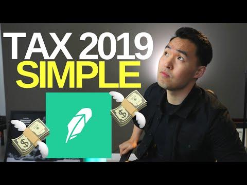 Easy Way To Do Taxes with Robinhood App 2019 (Turbo Tax)
