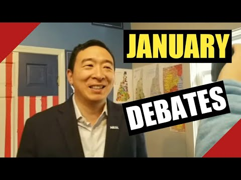 America Needs Yang! Andrew Yang & the January Debates. What you need to know & What Yang Said
