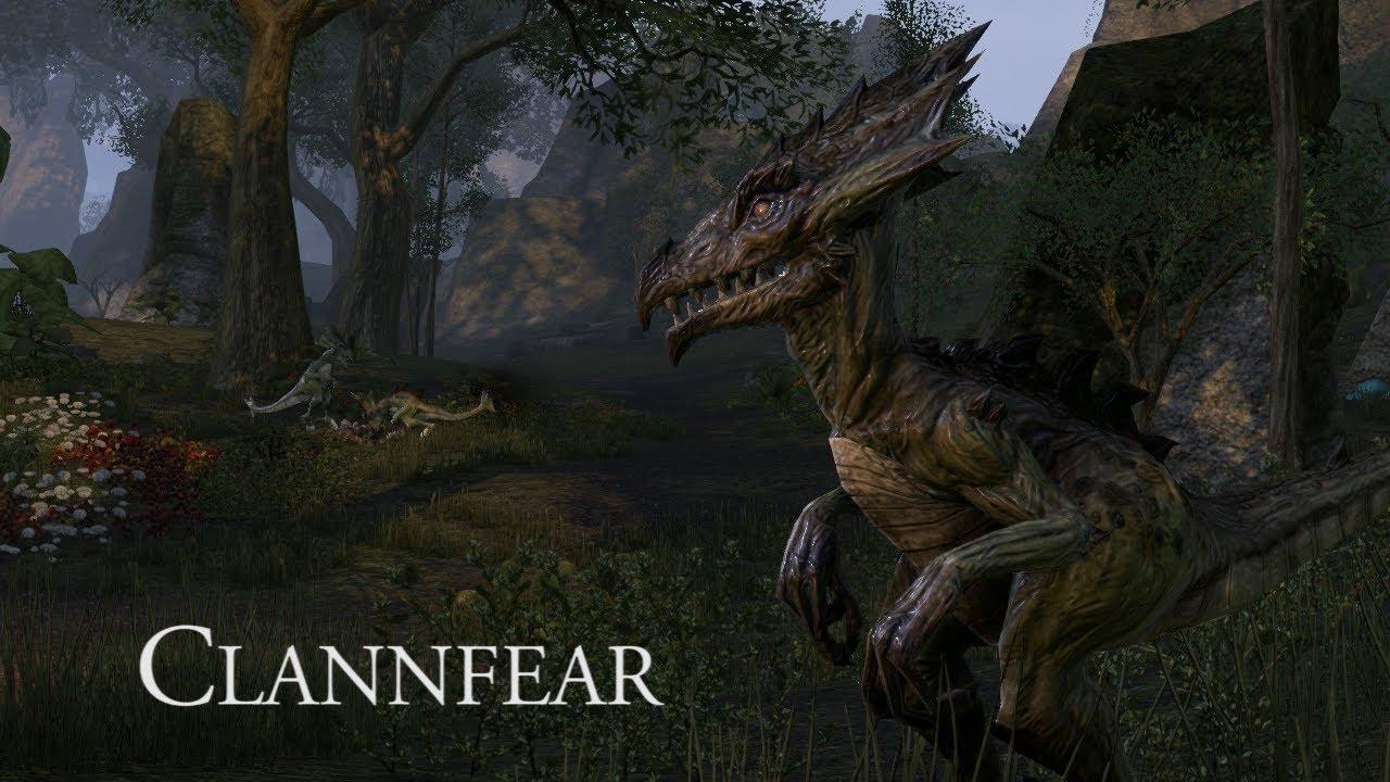 Elder Scrolls Online: видео - Создавая ESO: кланфир