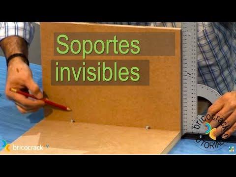 Poner soportes invisibles (BricocrackTV)