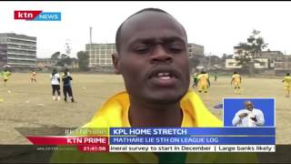 KTN Prime: Mathare United preparations for KPL, 27/9/2016