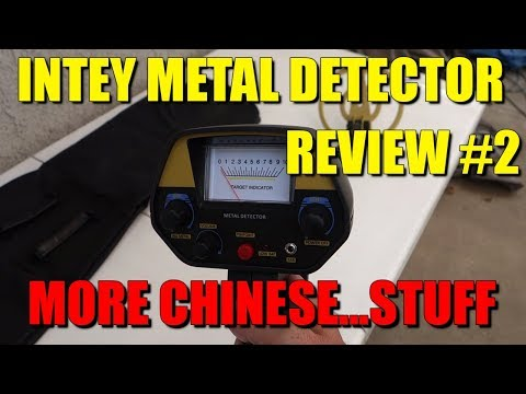 Another Intey Metal Detector Review -  More China Quality!