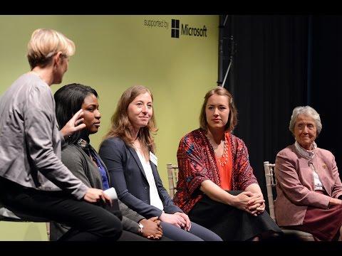 VIDEO: Elite sportswomen - past and present - discuss the changing attitudes to women's sport.