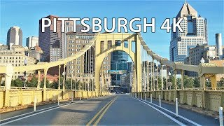 Pittsburgh (PA) United States  city images : Driving Downtown - Pittsburgh Pennsylvania USA