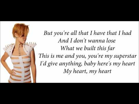 Rihanna - Photographs (feat. Will.I.Am) Lyrics Video