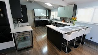 Modern Kitchen Remodel with Sophia Cabinets in San Clemente