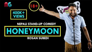 Video 18+ Suhagraat (Honeymoon) | Nepali Stand-up Comedy | Rosan Subedi | Nep-Gasm Comedy MP3, 3GP, MP4, WEBM, AVI, FLV September 2018