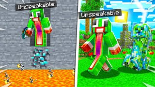 17 UNLUCKIEST Things That Can HAPPEN To You in Minecraft!