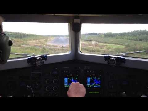 Landing In A DC3 With Turbine Engines