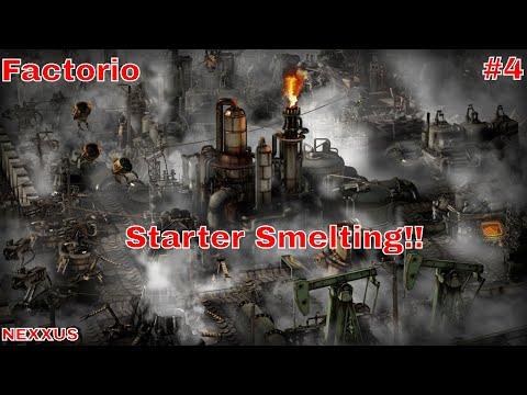 Factorio || Season 1 || Episode 4 || Starter Smelter