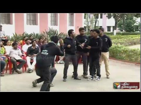 18-Plus-Karunya-University-students-silent-drama-about-elections