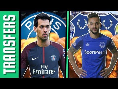Busquets a PSG új kiszemeltje? Walcott az Evertoné! | Átigazolási hírek
