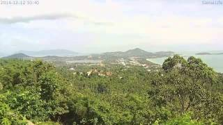 Samui The Jungle Club 2014-12-12 Full Day timelapse
