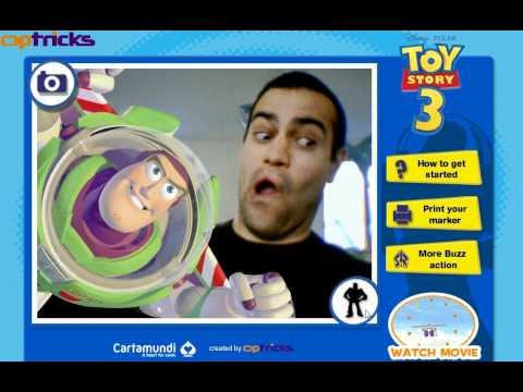 Buzz Lightyear Photobooth
