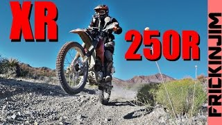 5. In-Depth XR250R Review