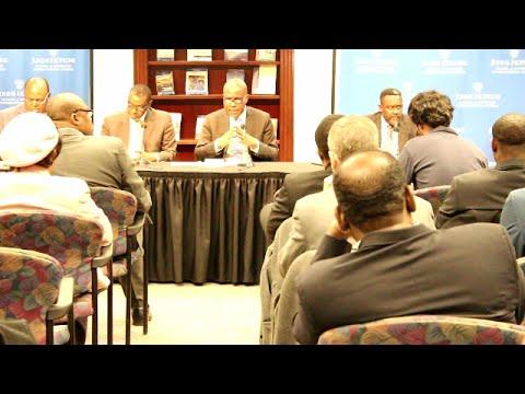 USA: LES OPPOSANTS CONGOLAIS EN CONFERENCE AUX ÉTATS-UNIS FACE AUX AMERICAINS