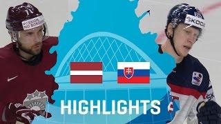 Латвия - Словакия 3-1