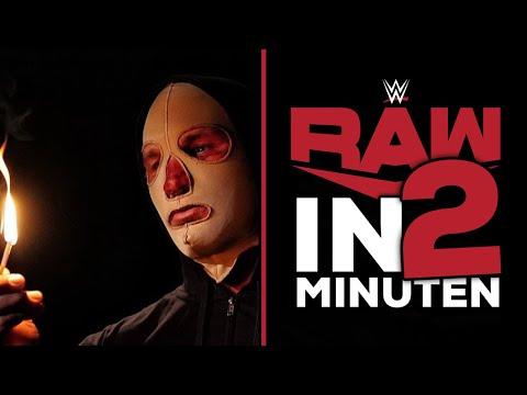 WWE RAW in 2 Minuten   Randy Orton, der Mann in der eierfarbenen Maske   18.01.21