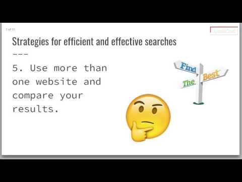 Strategic Searching Notes (видео)