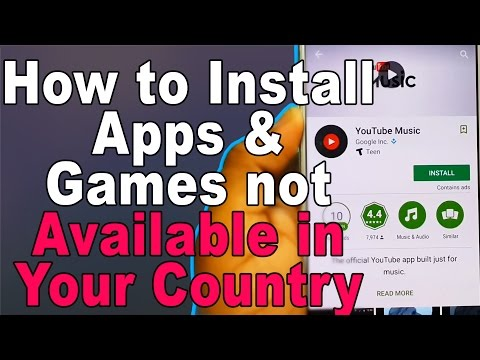 How To Change Country In Google Playstore To Download Apps Not Available In Your Country.
