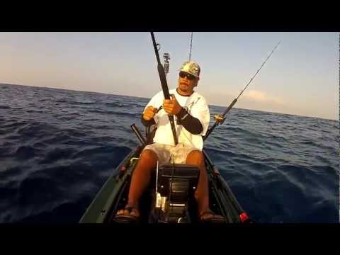 EXTREME KAYAK FISHING HAWAII - REEL TRIPZ 2  - kayak fishing, kayak photos, kayak videos