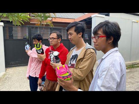 KAMEN RIDER HENSHIN JAPAN (TOKUSATSU HENSHIN) WITH VFX