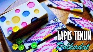 Video Kue Lapis Tenun Polkadot [Indonesian Layered Cake With English Subtitle] MP3, 3GP, MP4, WEBM, AVI, FLV Maret 2019