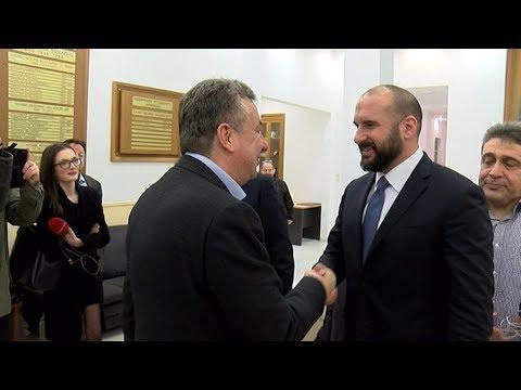 Στο Ηράκλειο ο Δημήτρης Τζανακόπουλος