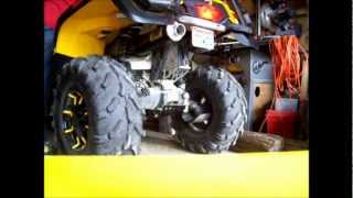 8. Can am outlander 650 stock vs HMF sound test