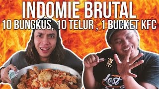 Video AYO MAKAN BRUTAL 10 Indomie , 10 Telur Ceplok , 1 Bucket KFC | GERRY GIRIANZA ft. BLACK MP3, 3GP, MP4, WEBM, AVI, FLV Oktober 2017