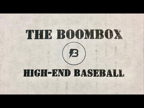 THE BOOMBOX: FEBRUARY HIGH END BASEBALL!  (2 HITS!)