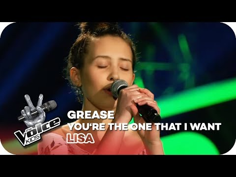 Grease - You're The One That I Want (lisa) | Blind Auditions | The Voice Kids 2018 | Sat.1