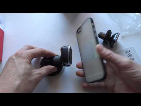 Video recensione supporto auto magnetico universale Osomount.