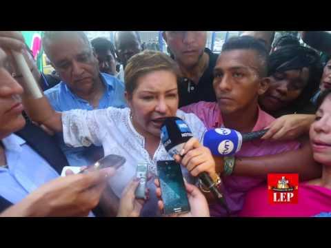 Alma Cortés fue liberada tras 13 días de estar detenida en la Policía.
