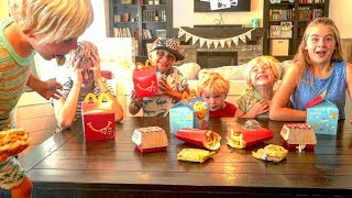 Video 🍟 5 Kids  React To Eating McDonald's For The First Time 😂 MP3, 3GP, MP4, WEBM, AVI, FLV Januari 2018