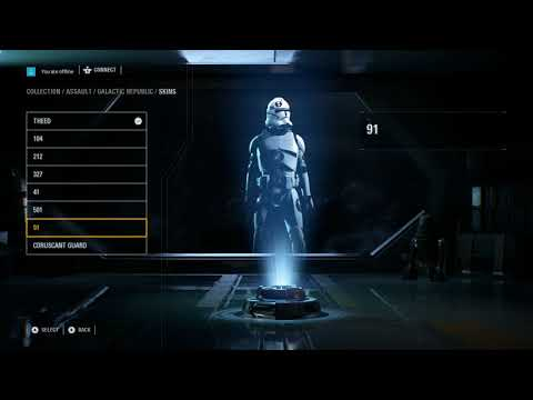 Datamined Star Wars Battlefront 2 - The game has a hidden character customisation Menu despite EA saying customisation is impossible.