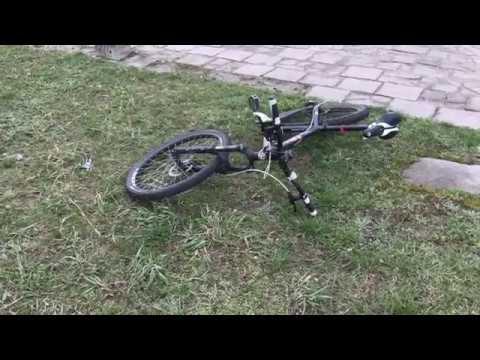 Wideo1: Potrącenie rowerzysty na ul. Spółdzielczej w Lesznie