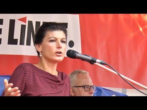 Сара Вагенкнехт о Меркель и неолиберальном дерьме [Голос Германии]
