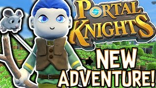MY NEW FAVOURITE GAME!! - PORTAL KNIGHTS! #1 |Gameplay|