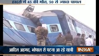 Patna India  city photos : Patna-Indore Express Derails near Kanpur, Death Toll Rises to 45