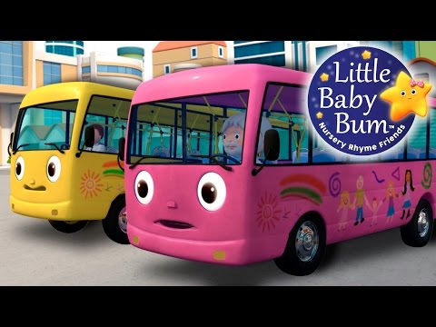 Wheels On The Bus | Part 8 | Learn with Little Baby Bum | Nursery Rhymes for Babies | ABCs and 123s