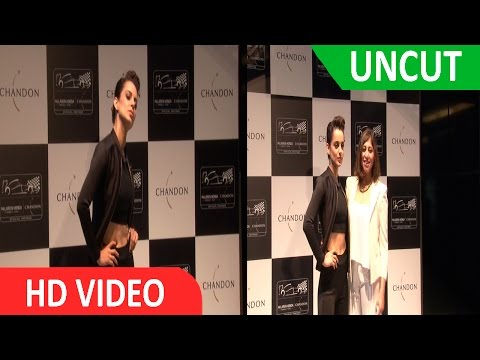 Unveiling Chandon X Mc LAREN-HONDA Installation With Style Icon Kangana Ranaut