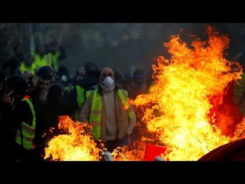 Νέες ταραχές στις διαδηλώσεις των «κίτρινων γιλέκων»