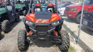 8. 2016 Polaris RZR S 1000 EPS Indy Red