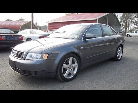 2002 Audi A4 3.0 Quattro 6 spd Start Up, Exhaust, and In Depth Tour