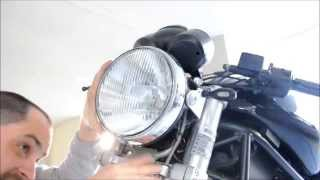 9. 06 Ducati Monster 620 - Upgrade the Headlight Bulb